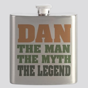 Dan The Legend Flask